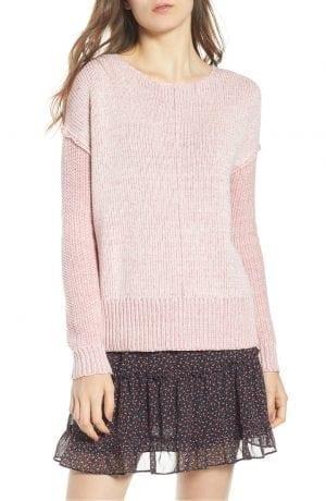Lola Reversible Twist Sweater REBECCA MINKOFF