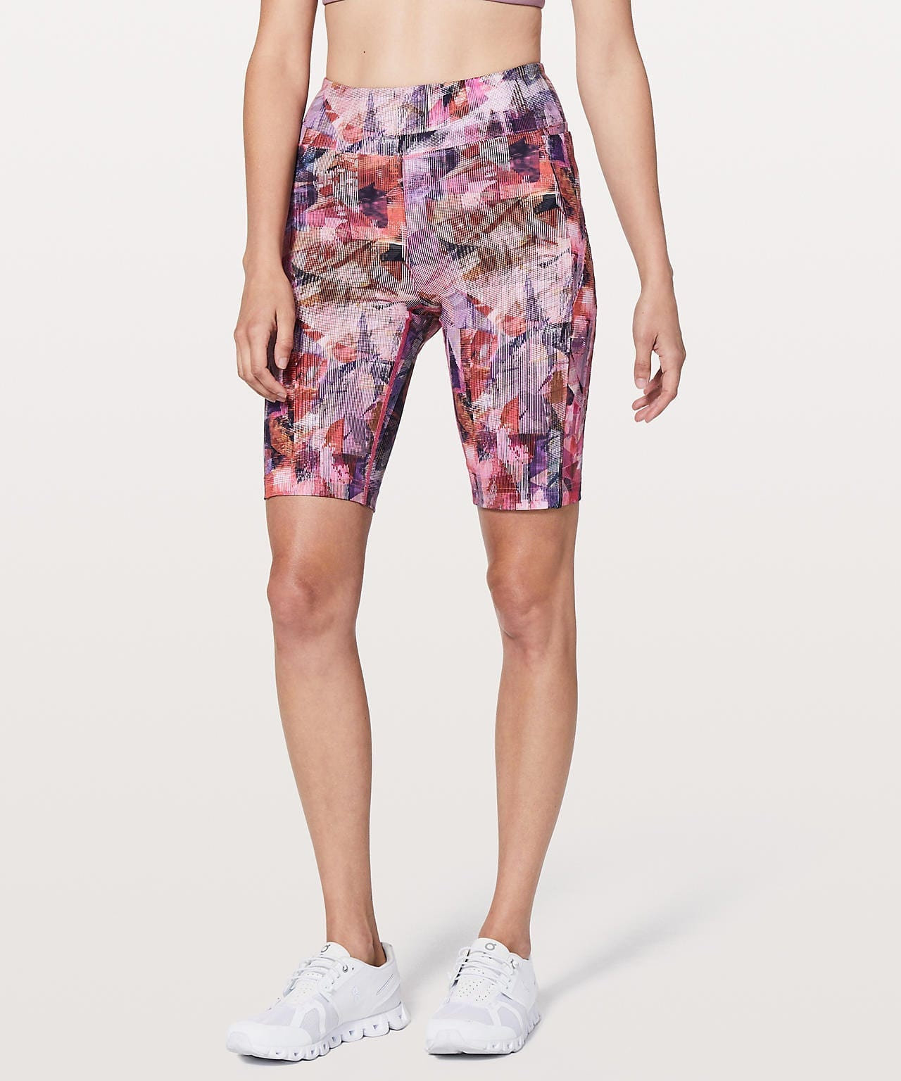 Lululemon On Pace Short, Sun Dazed Multi Pink