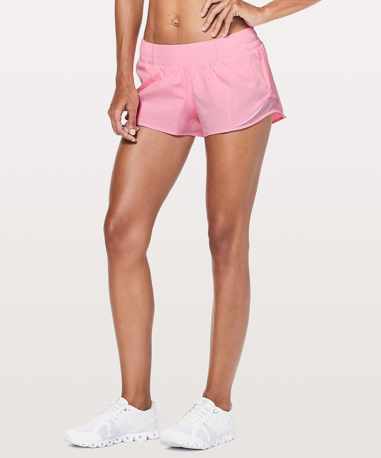 Lululemon Upload - Hotty Hot Short II - Miami Pink