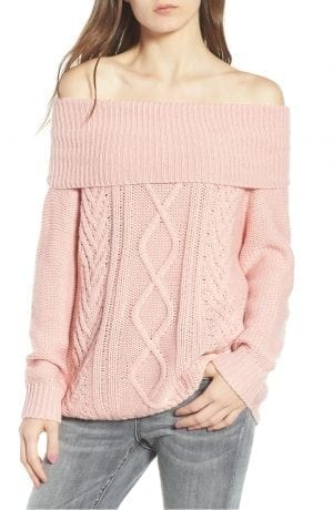 Off Shore Cable Knit Sweater BILLABONG