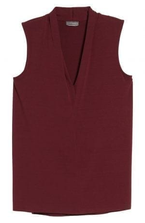 Vince Camuto Sleeveless V Neck Top