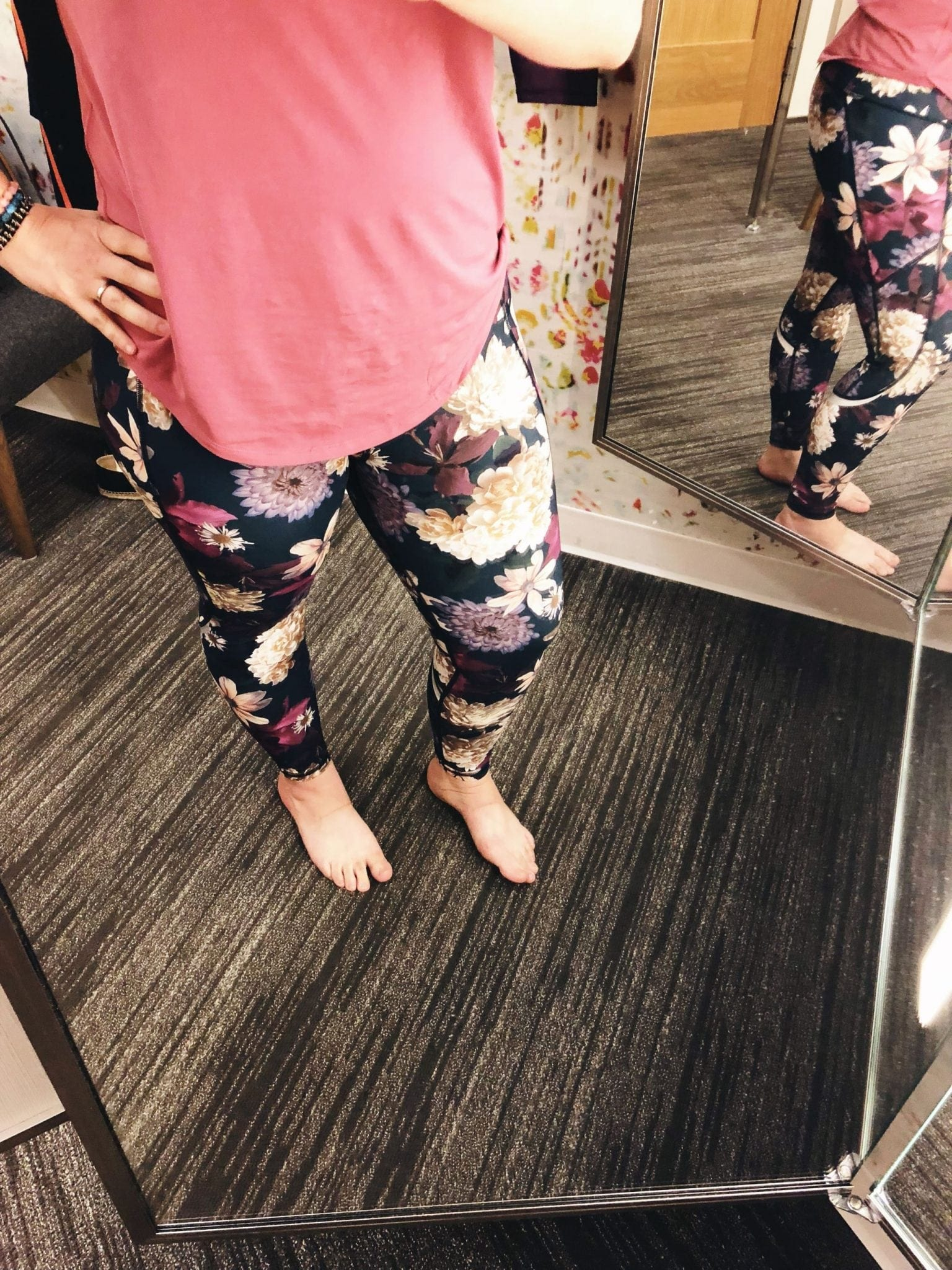 Zero Gravity Print Ankle Legging