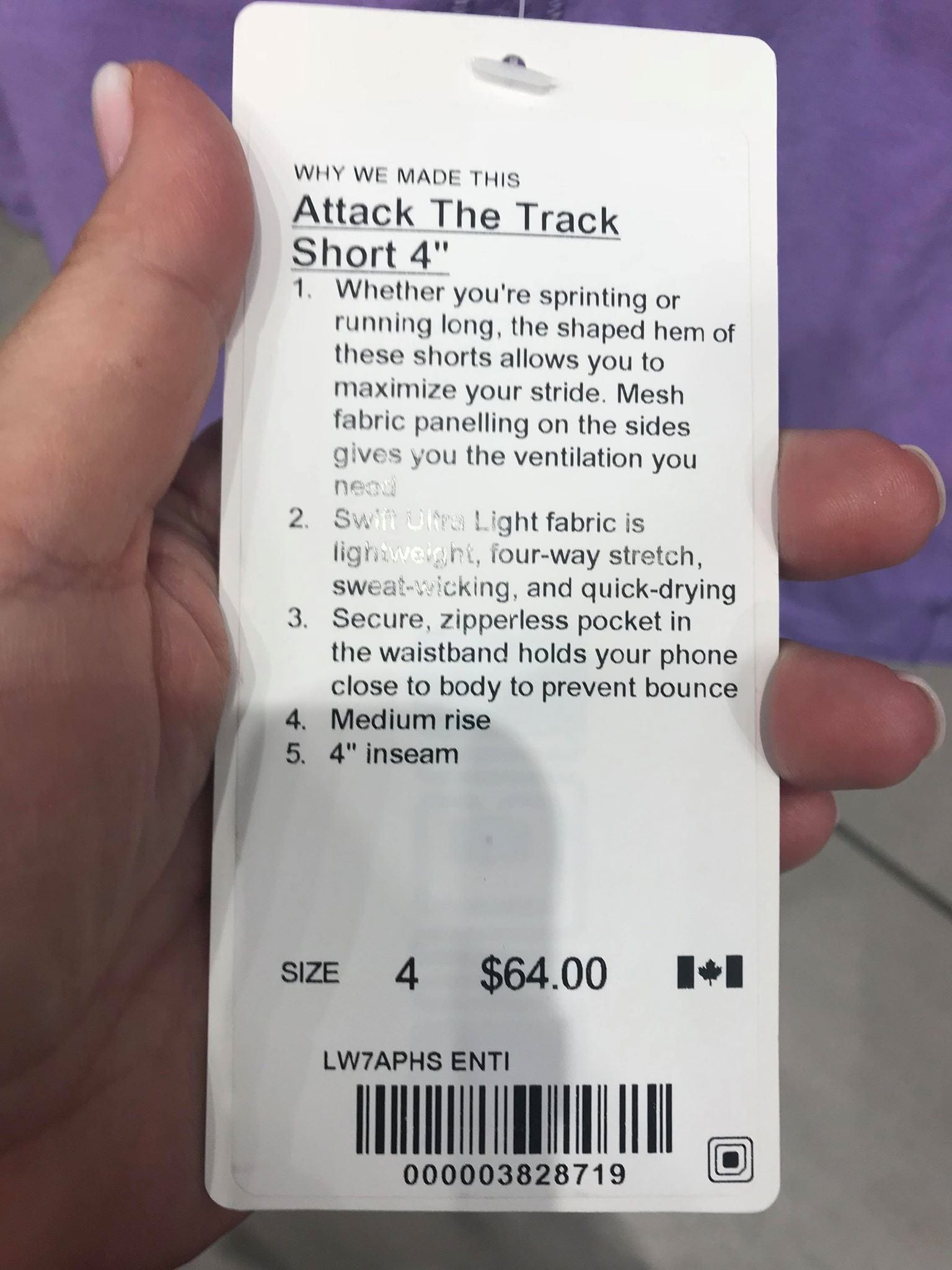 Attack The Track Short