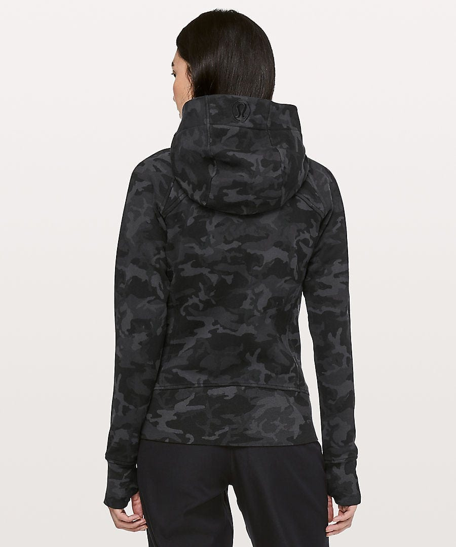 Lululemon Incognito Camo Scuba Hoodie IV