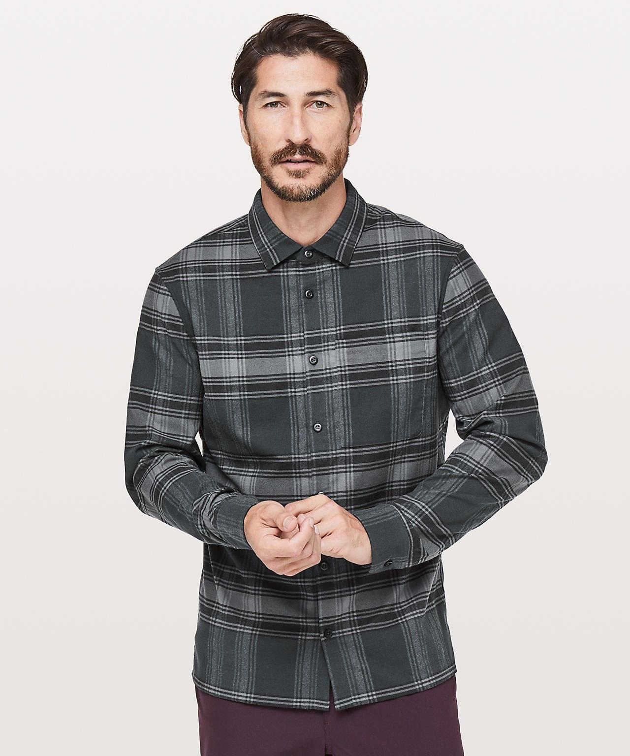 Flannel Shirt Men
