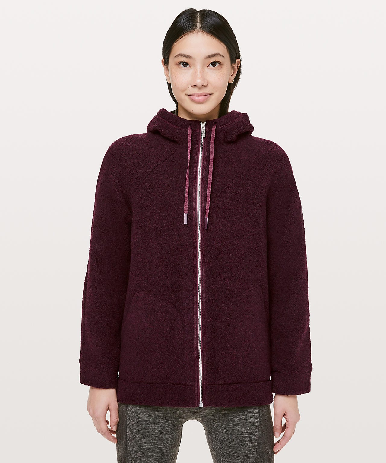 So Sherpa Hooded Jacket