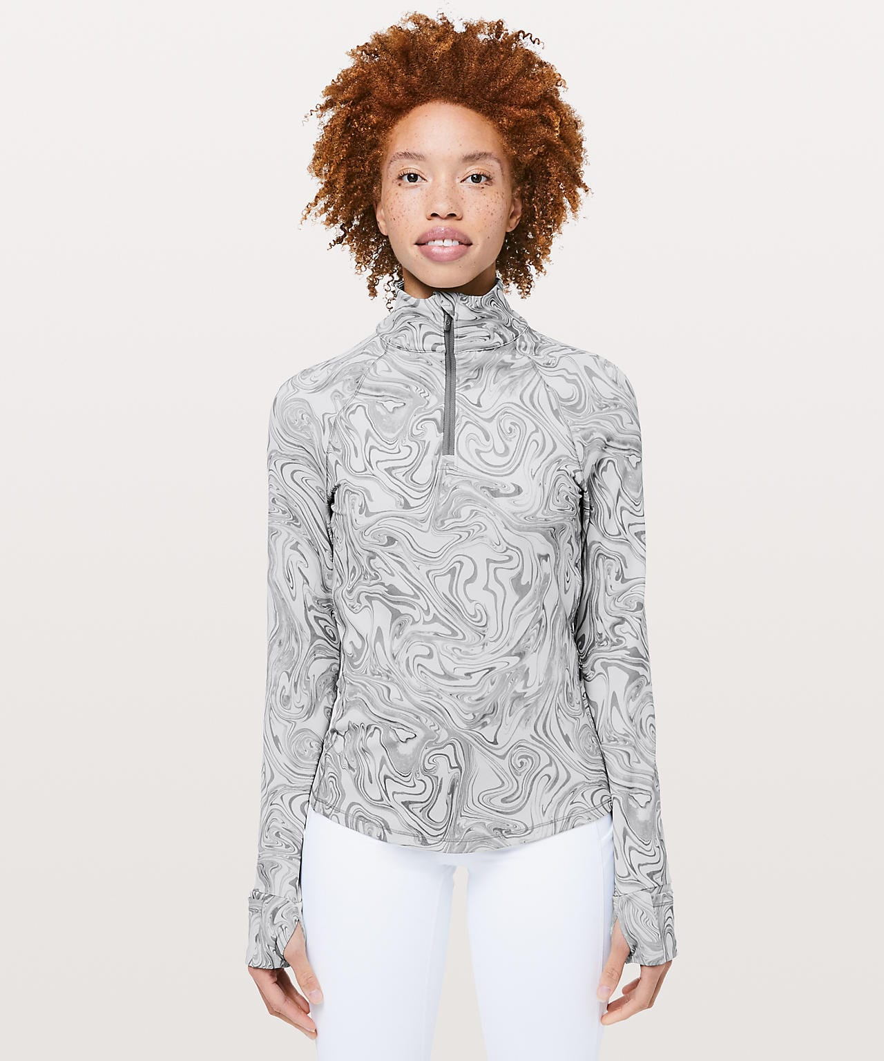 Suminagashi Run Half-Zip  lululemon lab
