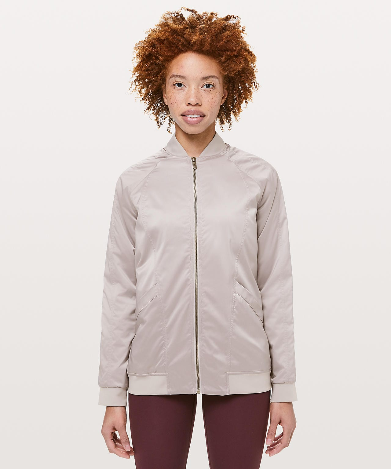 Trace Back Bomber Jacket