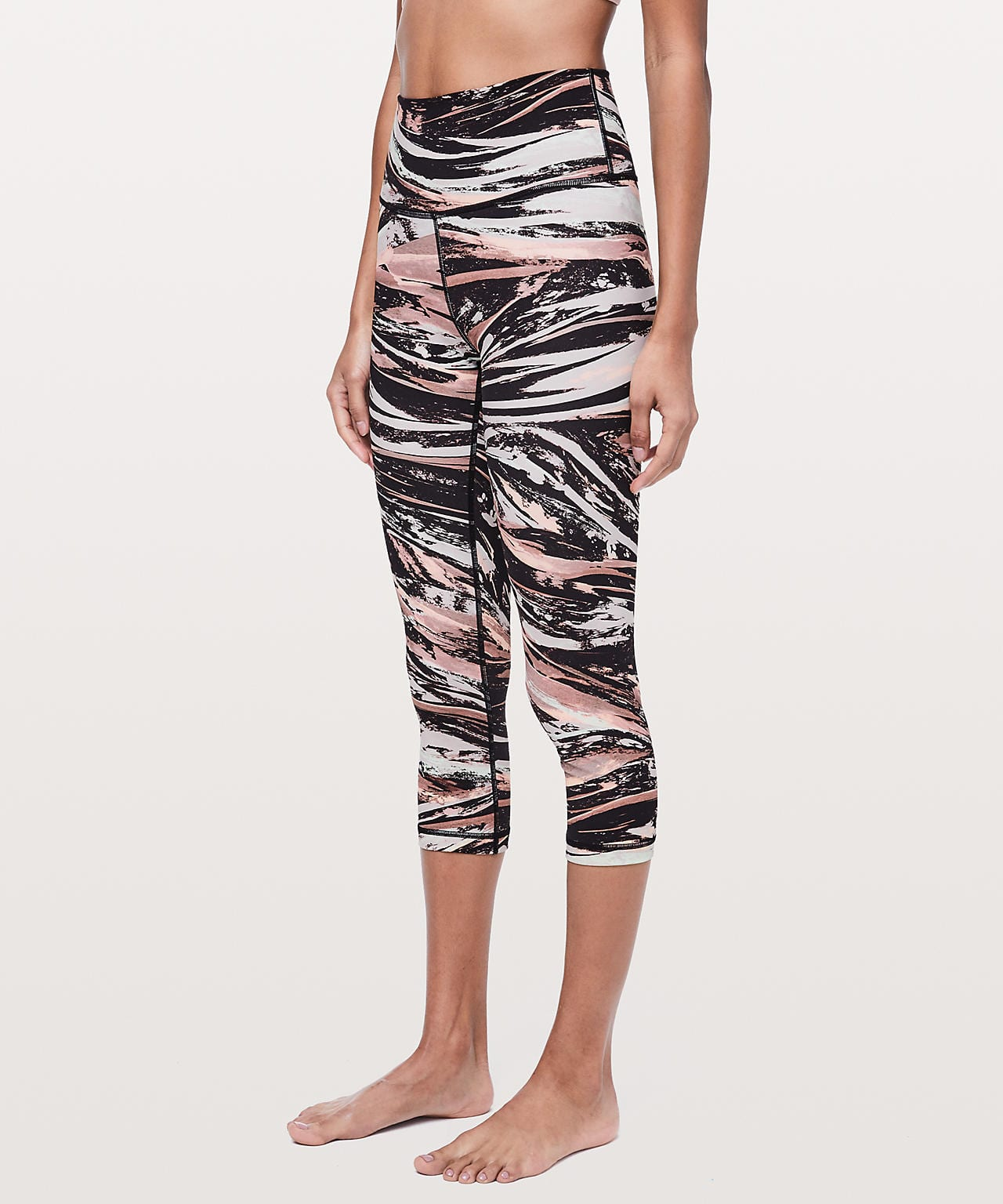 Wunder Under Crop High-Rise Colour Splash Multi