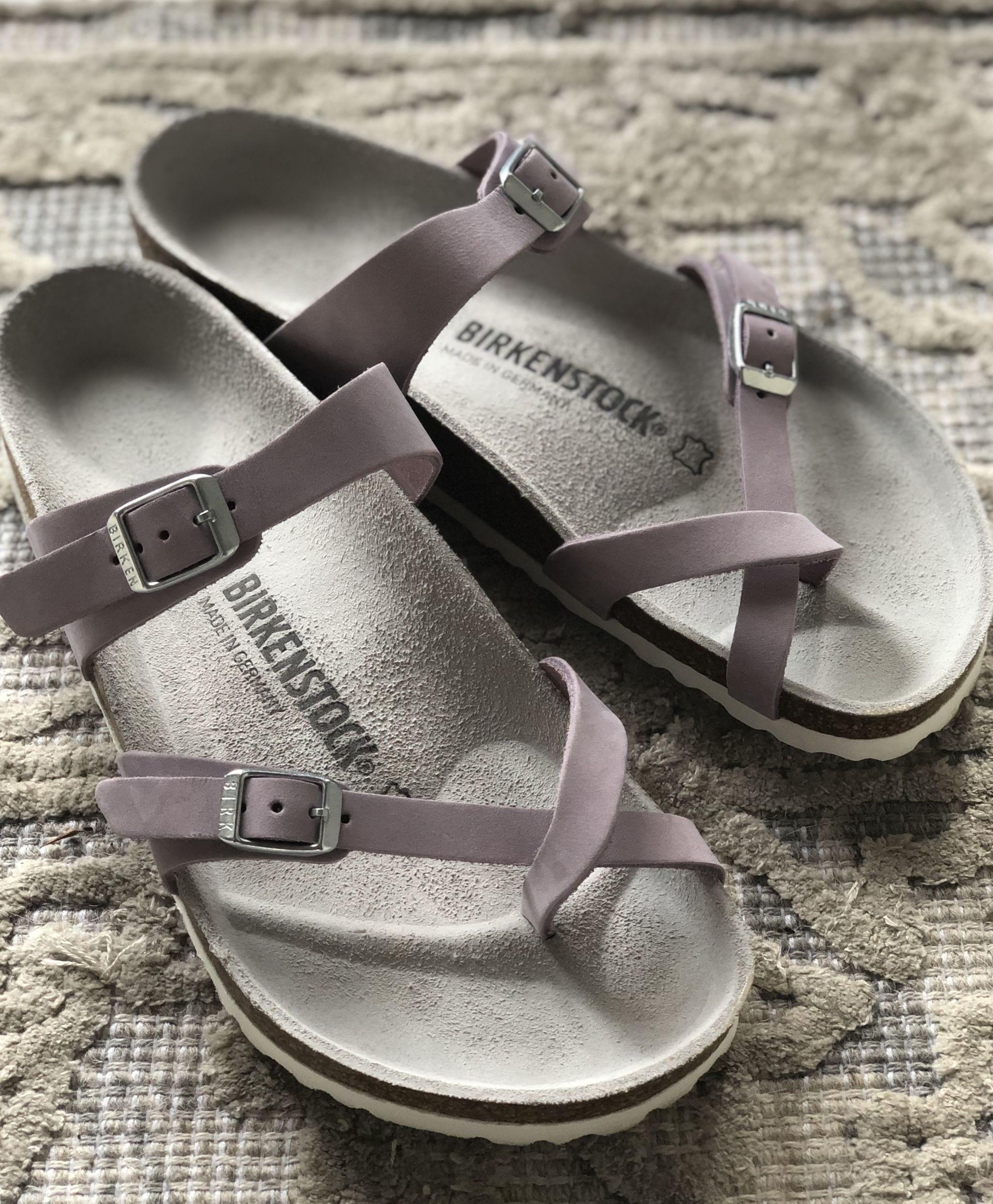 Birkenstock Mayari Sandal, Nubuck Lilac