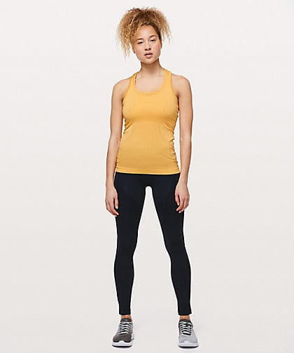 Lululemon. Swiftly Racerback Tank, Honey Lemon