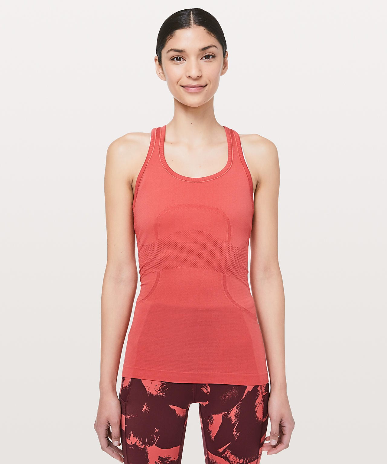 Swiftly Tech Racerback Poppy