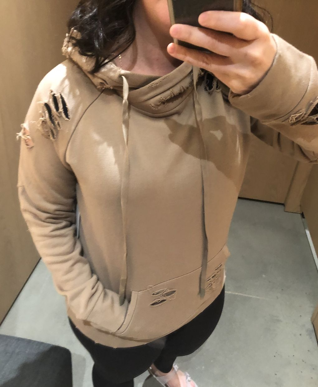 Alo Yoga Ripped Hoodie