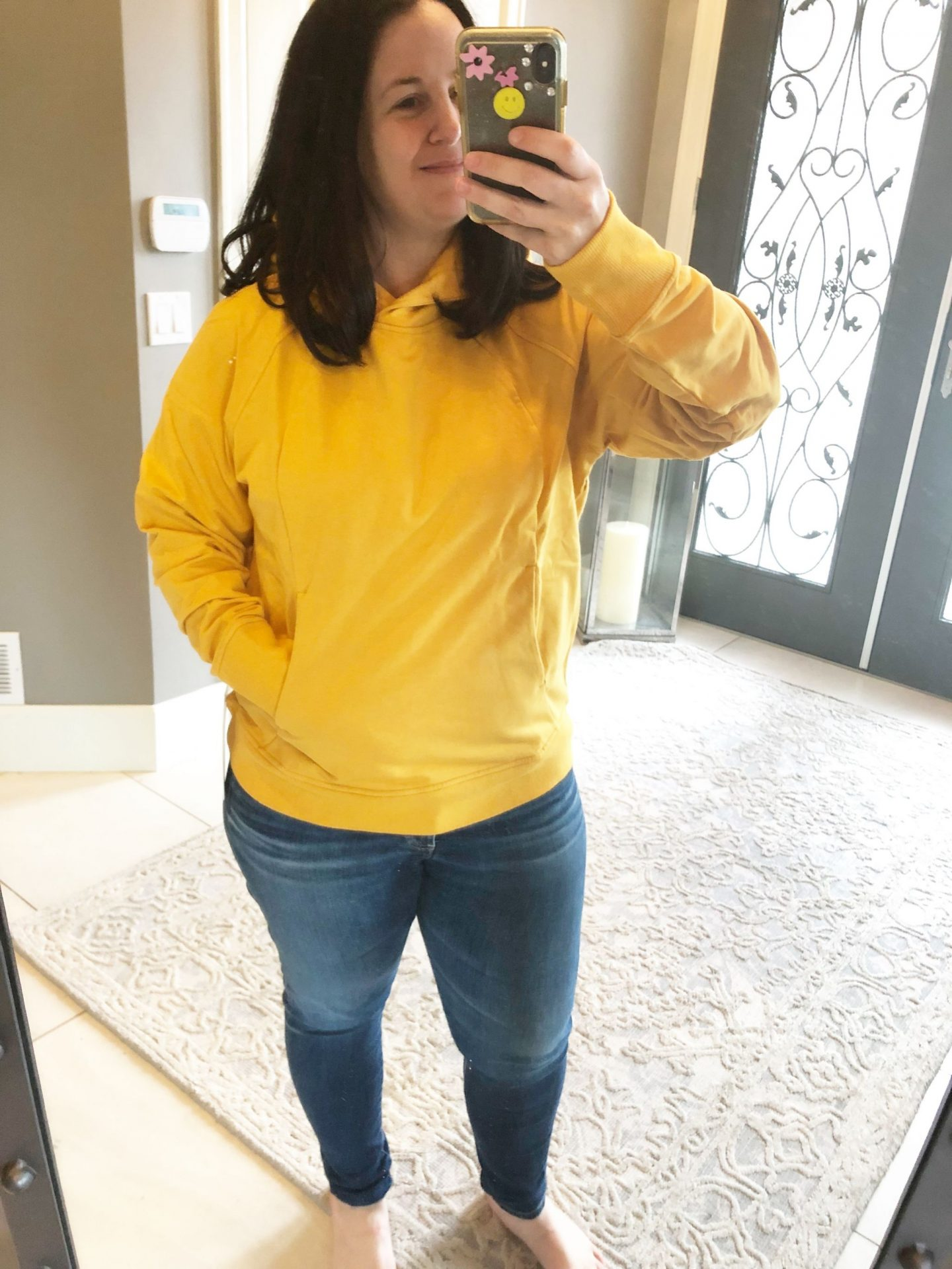 Honey Lemon Scuba Pullover