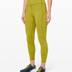 In Movement Tight Everlux Golden Lime