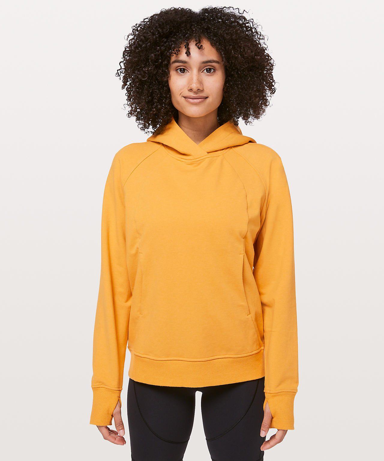 Scuba Pullover Heathered Honey Lemon