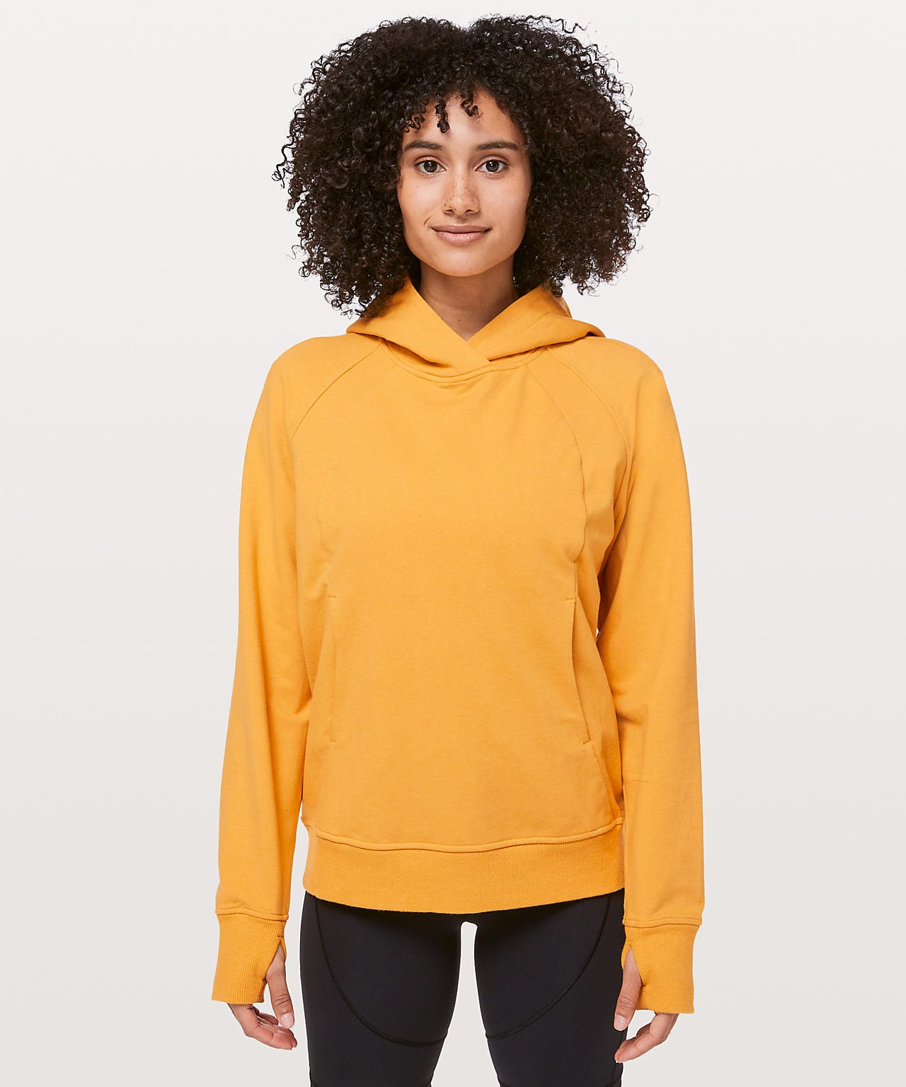 Scuba Pullover, heathered honey lemon, Lululemon Upload