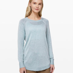 Lead With Your Heart Sweater Heathered Starlight