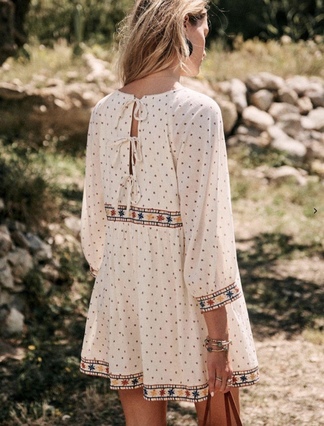 Grace Dress, Sezane Summer 2019