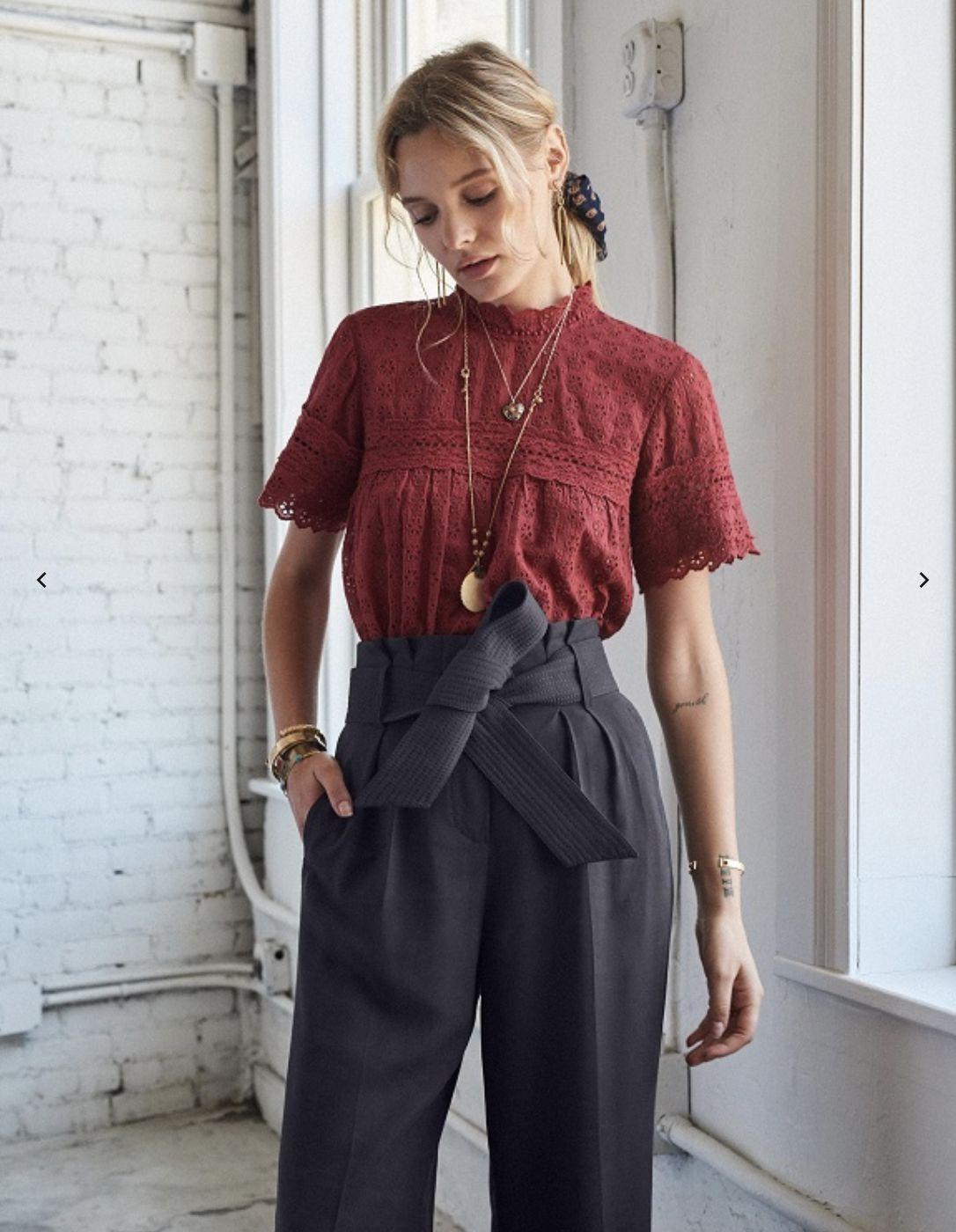 Hamptons blouse - Sézane x SEA