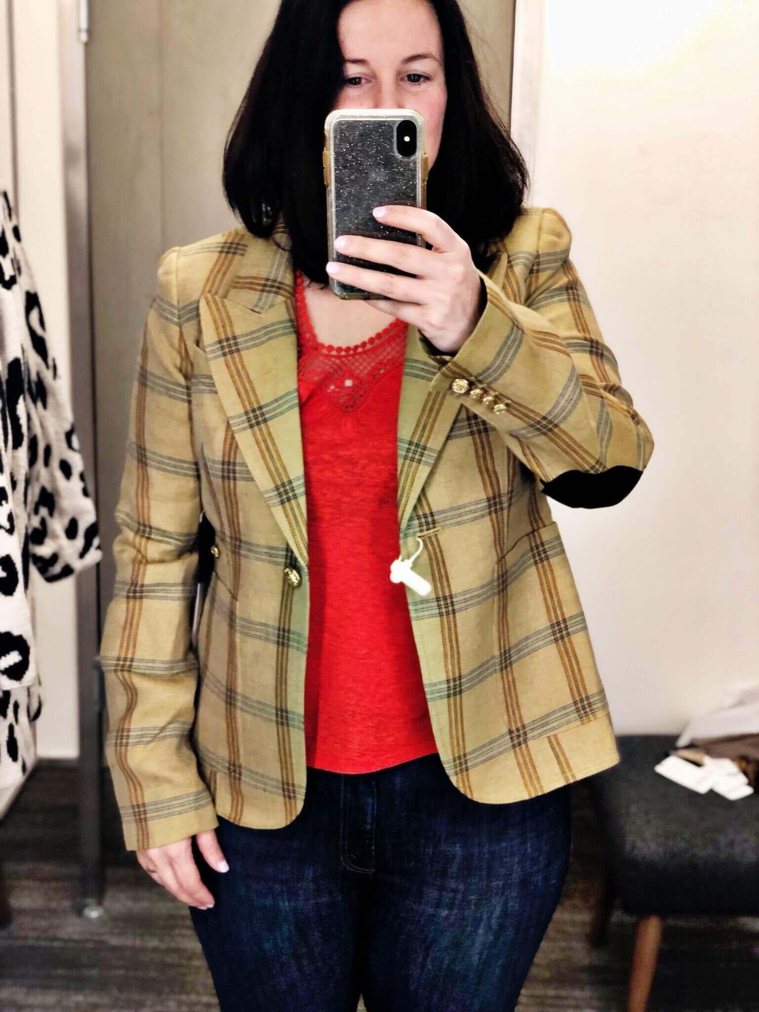 Anniversary Sale Dressing Room Try-Ons | Smythe Blazer