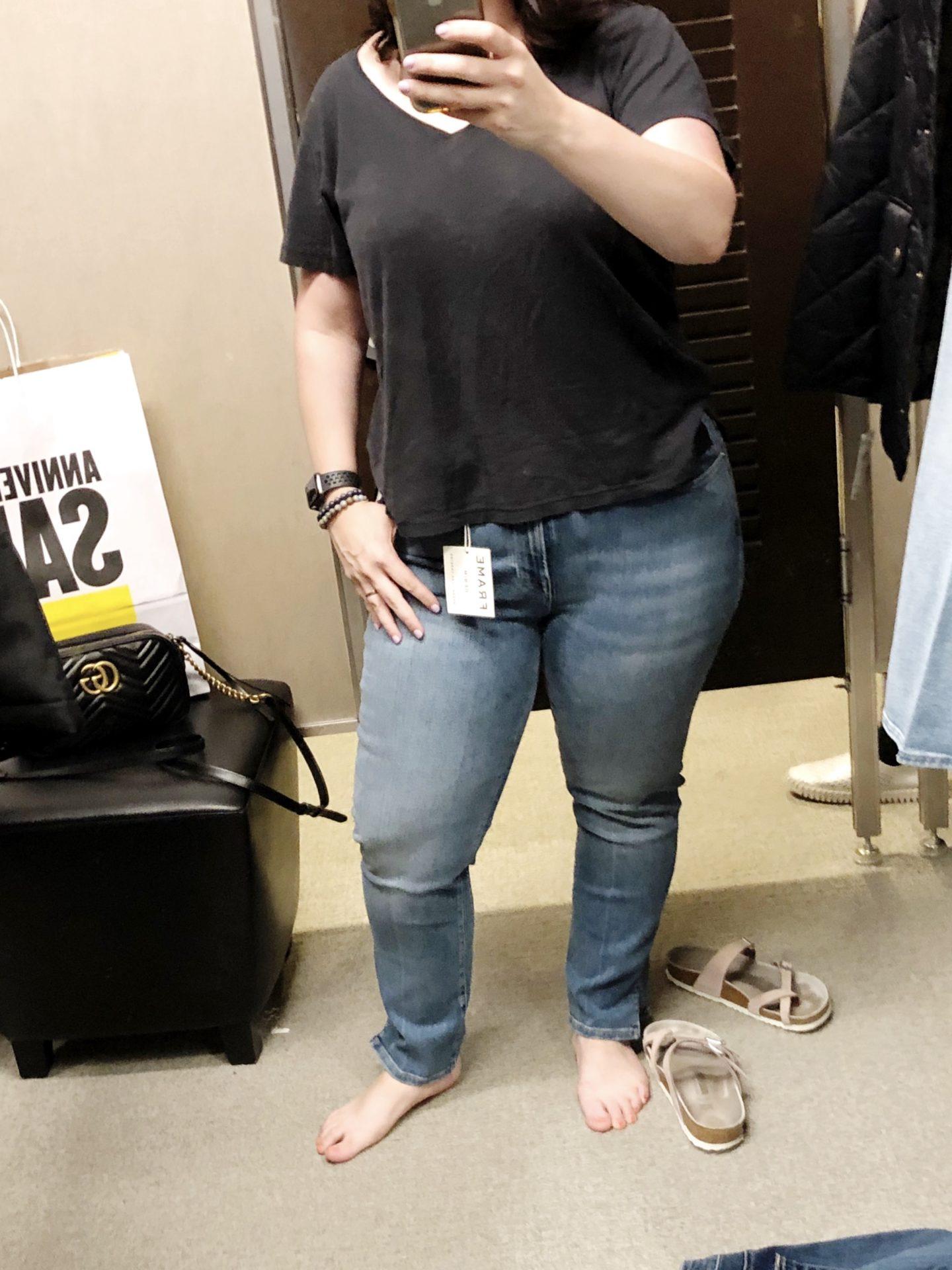 Nordstrom-Anniversary-Sale-Le-High-Straight-Slit-Hem-Ankle-Jeans-FRAME