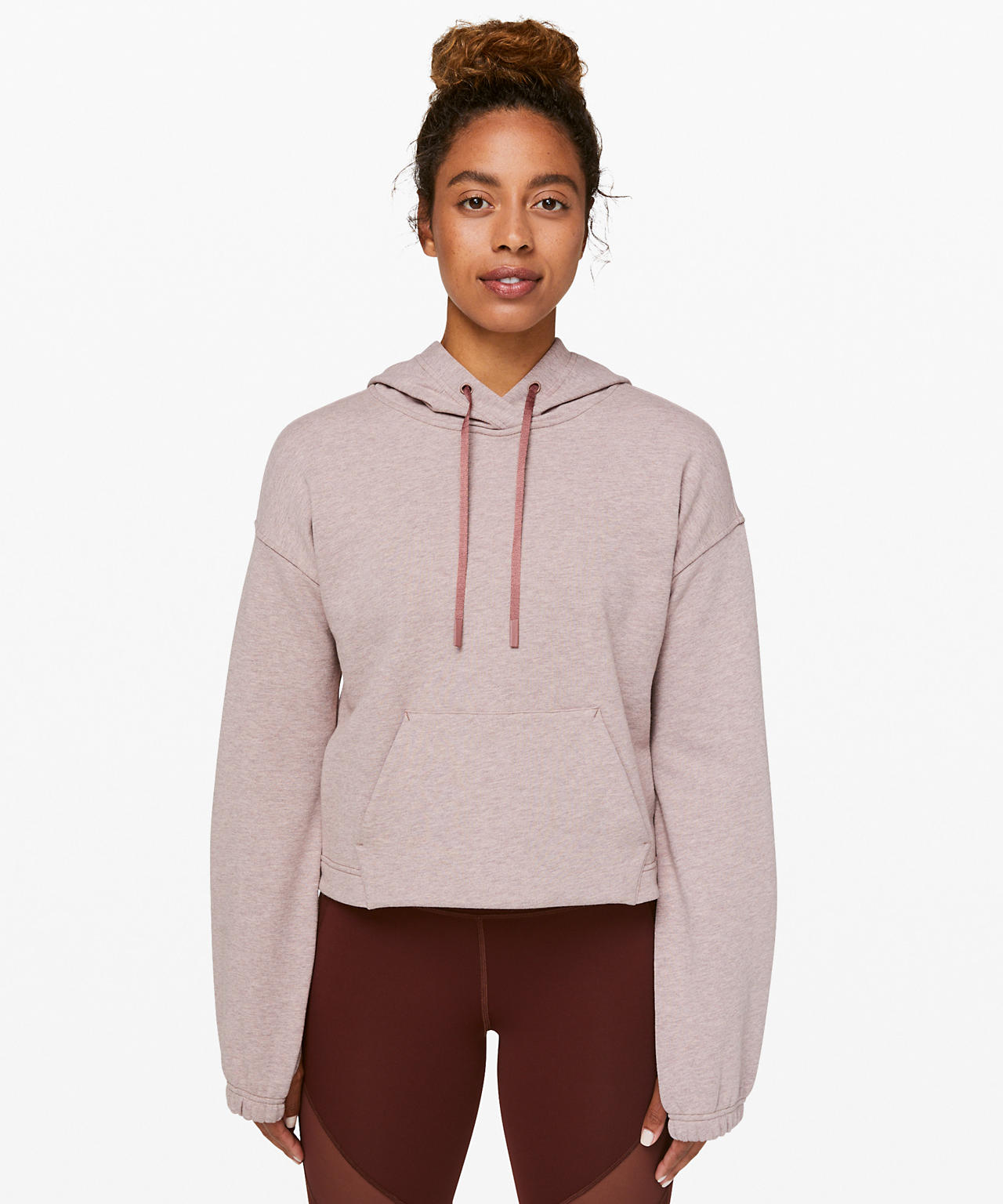 Stronger as One Cropped Hoodie  lululemon X Barry's