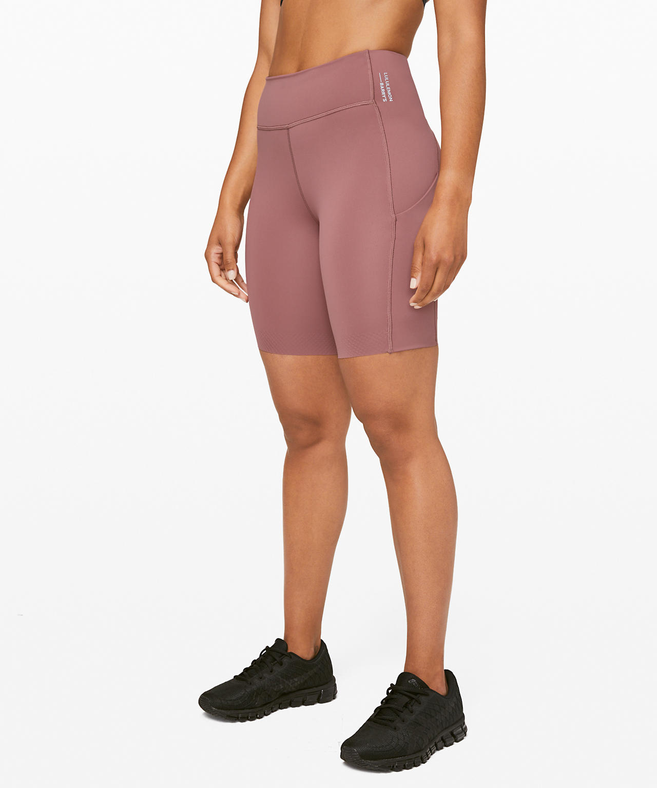 "Stronger as One High-Rise Short 8""  lululemon X Barry's"
