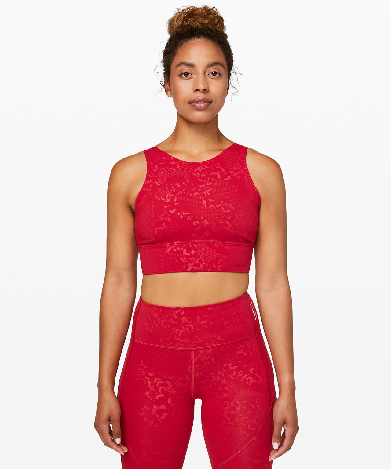 Stronger as One Long Line Bra  lululemon X Barry's