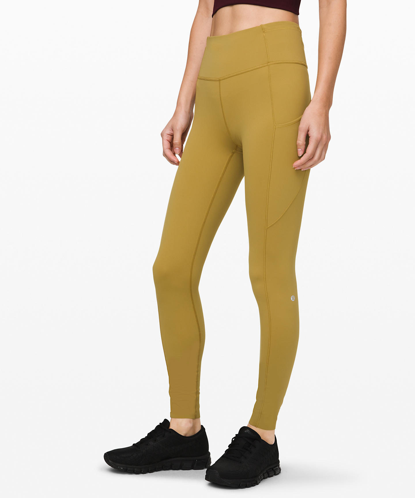 """Fast and Free High-Rise Tight 28""""  Non-Reflective Suede"""