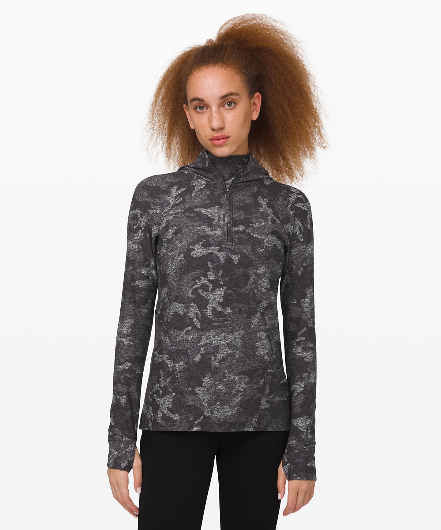 Warmth Stabilizer half zip hoodie
