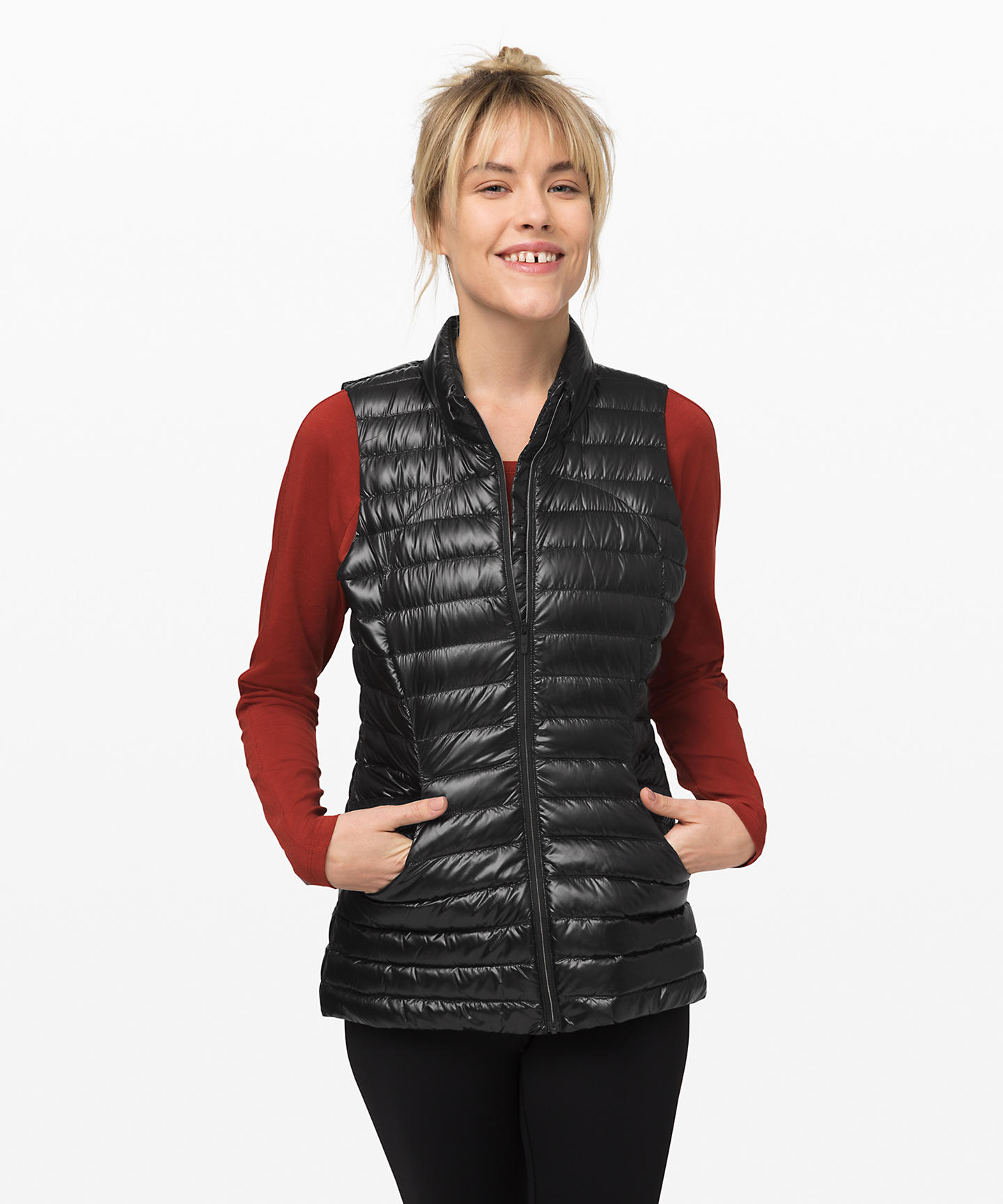 Last Lululemon Upload For 2019, Pack It Down Vest Shine